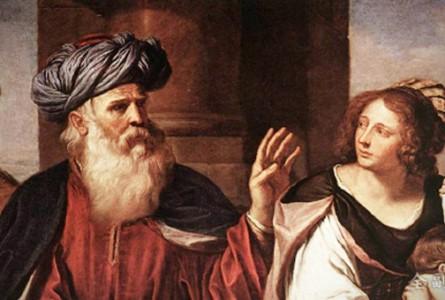 交织在撒拉和夏甲的上帝的奥秘